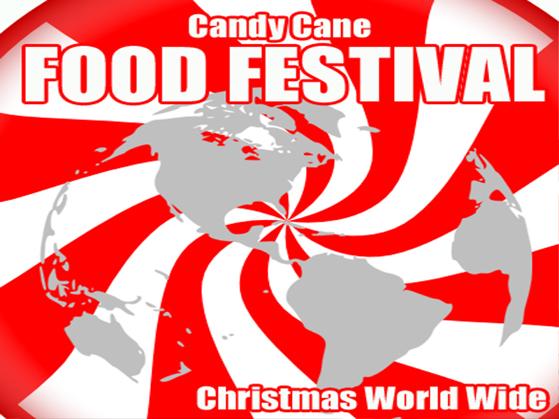 Candy Cane Food Festival - Christmas Festival - Old Town Square San Clemente CA