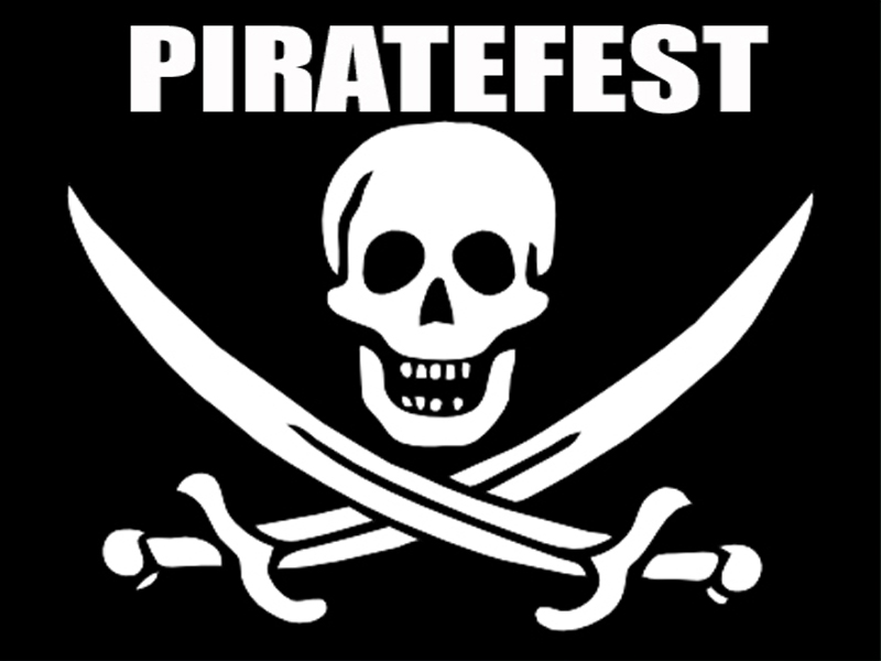 Pirate Festival - Piratefest - Rum, Fish, Clam Chower, Old Town Square San Clemente CA